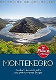 Montenegro – das Land zwischen Adria und den schwarzen Bergen (Tischkalender 2019 DIN A5 hoch): Ein kleiner Staat mit großartigen Landschaften und ... (Planer, 14 Seiten ) (CALVENDO Natur)