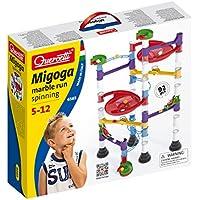 Quercetti 6565 Migoga Marble Run - Circuito de bolas para montar (90 piezas)