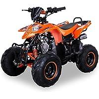 Kinder Quad S-5 Polaris Style 125 cc Motor Miniquad 125 ccm Razer orange