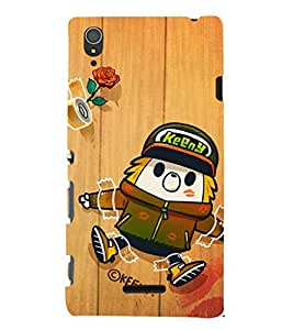 EPICCASE Taped love Mobile Back Case Cover For Sony Xperia T3 (Designer Case)