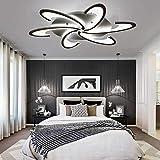 TINS 72W LED Plafonnier Moderne Froid Blanc Plafonnier Salon Chambre Lustre, Éclairage de la Chambre Plafond AC 220V-240V