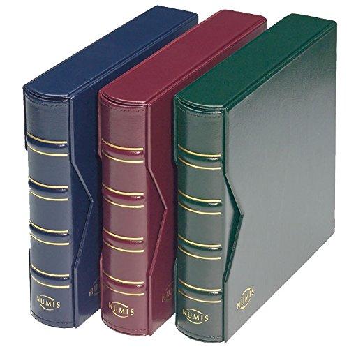 Leuchtturm 330847- Ringbinder Numis, Classic Design inkl. Schutzkassette, grün - Buch Münzen Seltene