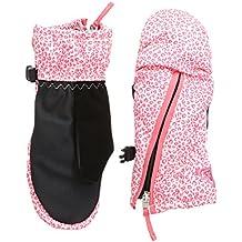 Roxy Handschuhe Snow S Up Mitten - Guantes de esquí para niña, color rosa, talla XS