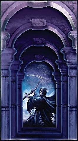 Halloween door Cover. Grim Reaper