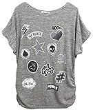 Emma & Giovanni - T-shirt Patch Manche Courte - Femme