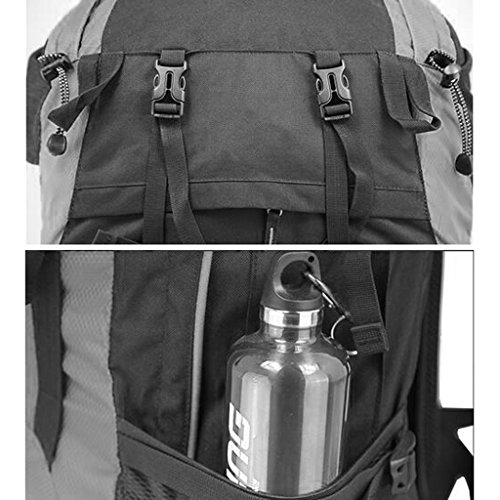 AMOS Zaino Outdoor 60L borsa da viaggio alpinismo sacchetto da viaggio borsa da viaggio zaino da viaggio ( Colore : Arancia ) Arancia
