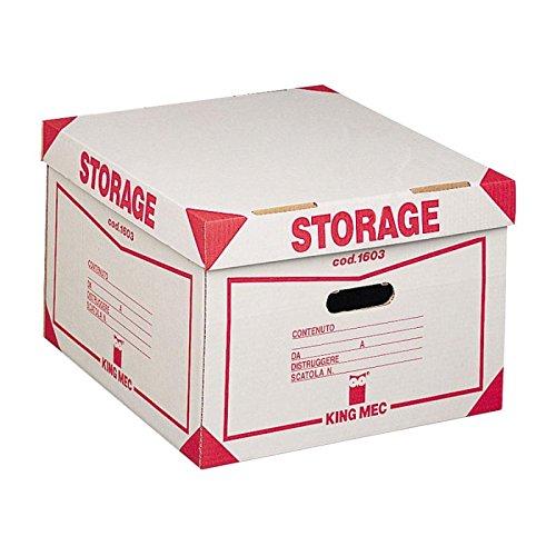 Rexel 00160300 storage contenitore con coperchio per 4 scatole archivio