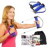 Mejores Bandas de resistencia ejercicio Kit–gwee gimnasio entrenamiento total Kit | Ultimate Crosstrainer para construir músculo y perder peso | incluye DVD de entrenamiento, bolsa de viaje, una alimentación sana E-Book & más, Gwee Gym LITE - 1.5 lb