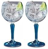 Bombay Sapphire Gin Ballon Glas X2