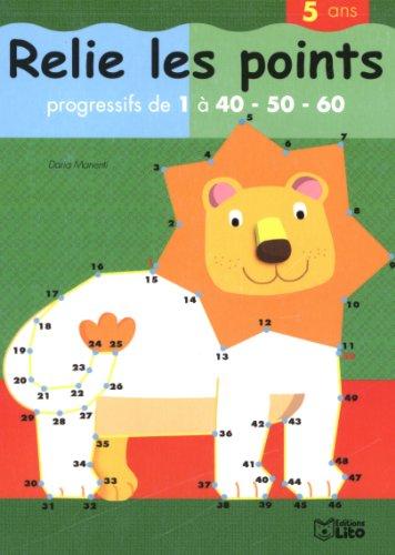 Relie les Points de 1 a 60 - le Lion - Dès 5 ans