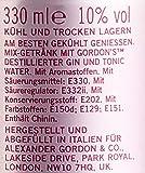 Gordon's Premium Pink Distilled Gin & Tonic Water Mix-Getränk, EINWEG (12 x 0.33 l)