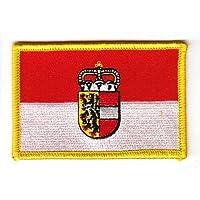Salzburg Pin Anstecker Flagge Flaggenpin Fahne Fahnenpin Button Clip