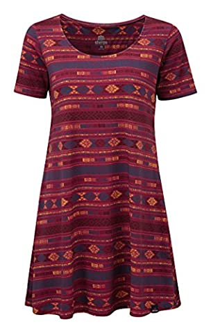 Sherpa Adventure Gear Women Kira Swing Dress, Tika Pink, Large
