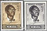 Mongolei 212-213 (kompl.Ausg.) 1961 Patrice Lumumba (Briefmarken für Sammler)