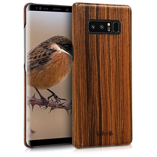 kalibri-Holz-Case-Hlle-fr-Samsung-Galaxy-Note-8-Handy-Cover-Schutzhlle-aus-Echt-Holz-und-Kunststoff-Mix-Lindenholz-in-Braun