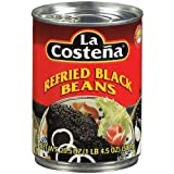 La Costena Refried Black Beans (400g)