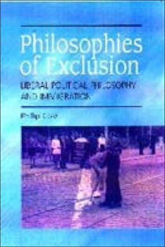 Philosophies of Exclusion: Liberal Political Theory and Immigration 1st edition by Cole, Phillip (2000) Paperback
