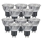 Paulmann LED Leuchtmittel 2W GU10 Reflektor Strahler LED Spots 230V warmweiß 3000 Kelvin 140 cd 30000h Ø 51 mm Strahlwinkel 38° nicht dimmbar 10er-Pack