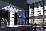 Faber–Dunstabzugshaube A Decke Heaven 2.0Flat Finish Edelstahl-90cm