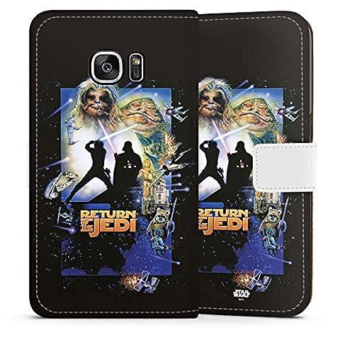 Samsung Galaxy S7 Tasche Hülle Flip Case Star Wars Merchandise Fanartikel Return Of The Jedi