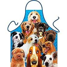 Hunde Dogs Pons Caninos - Fun Motiv Schürze - mit Gratis-Urkunde