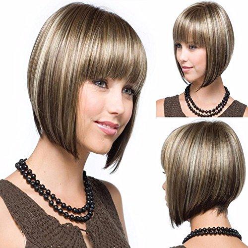 yifutang Perücke, Mode, BOBO Kopf Kurze Haare, Frauen, Europa und Amerika, Pop, Frisur