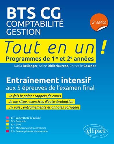 BTS CG - 2e édition par  Bellanger Nadia, Didierlaurent Adine, Gaschet Christelle