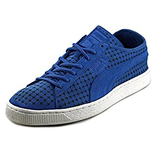 51Ktd5EKUPL. SS300  - Puma Suede Courtside Court Sneakers Shoes Perforated