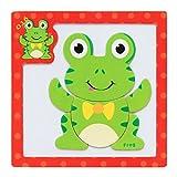 Vovotrade Rompecabezas magnético de madera educativo bebé de desarrollo de entrenamiento de juguete (K)