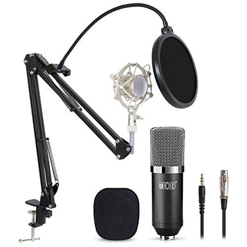 Tonor XRL zu 3.5 mm Kondensator-Mikrofon Kit Schall Podcast...