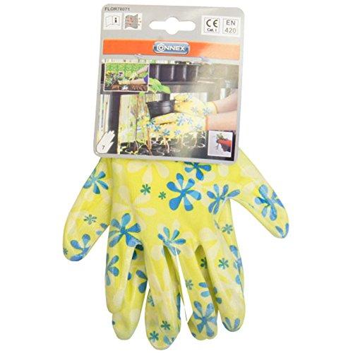 Connex Gartenhandschuhe Nitril Gr. 7 gelb, FLOR78071