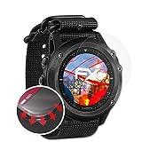 atFoliX Schutzfolie passend für Garmin Tactix Bravo Folie, entspiegelnde & Flexible FX Bildschirmschutzfolie (3X)
