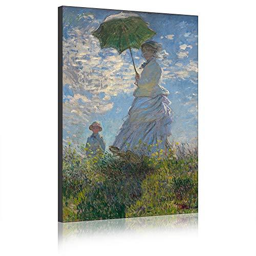 Five Seller Donne E Bambini di Claude Monet Quadri Dipinti Famosi Riproduzioni Artistiche Stampate su Tela Opere dArte di Parete per Decorazioni per