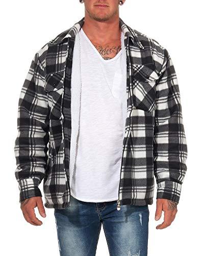 ZARMEXX Camisa térmica Hombre Chaqueta leñador Cuadros