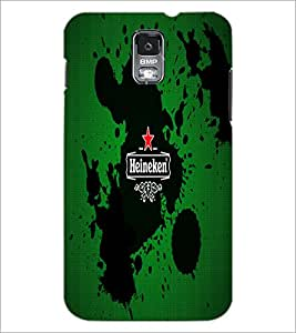 PrintDhaba Logo D-5517 Back Case Cover for SAMSUNG GALAXY S5 (Multi-Coloured)