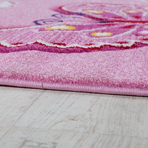 paco home tappeto per bambini  Paco Home Tappeto per Cameretta Tappeto per Bambini Motivo con ...