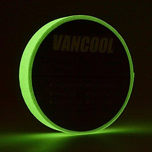 uchtendes Klebeband luminous tape glow in the dark Selbstklebend, Anti-Rutsch, Wasserdicht (Glow Tape)