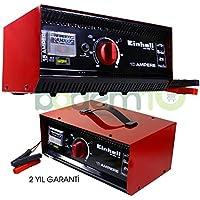 Einhell 1075031 - Cargador Batería, Carcasa Chapa Acero, 6-12-24 V
