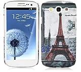 Cadorabo - TPU Hard Cover per  Samsung Galaxy S3 / S3 Neo  - Case Cover Involucro Bumper Accessorio in Design: Paris - Torre-Eiffel