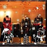 Weihnachtssticker Weihnachtsdeko Weihnachten Rentier Stadt Removable Startseite Vinyl Fensterbilder Fensterdeko Fenstersticker Wandaufkleber Wandtattoo Wandsticker Wandtattoo Aufkleber Wanddeko