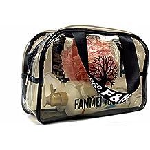 PVC impermeable bolsa de baño natación Fitness mano transparente bolsa de playa, bolsa de maquillaje