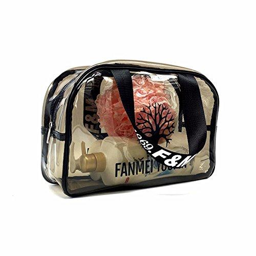 la baignade imperméables en pvc transparent fitness à sac, sac de plage, maquillage,aucun filet oeil 35cm gros sac
