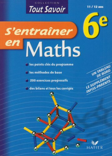 S'entraîner en Maths 6e par Veronique Gabilly