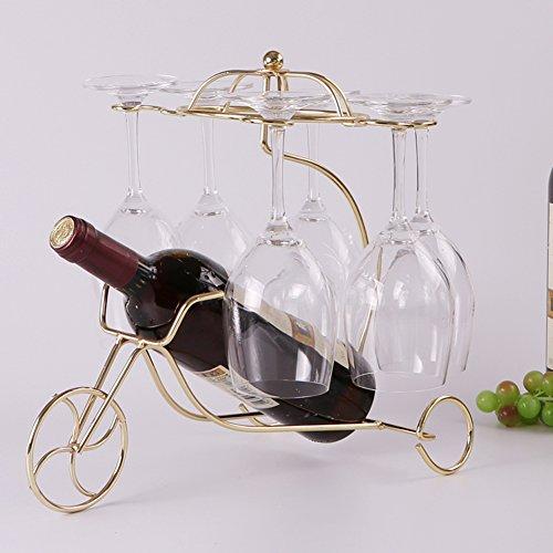 Flaschen wine rack, Wine holder creative stark und dekorativ display wine standing oranament dekor-D...