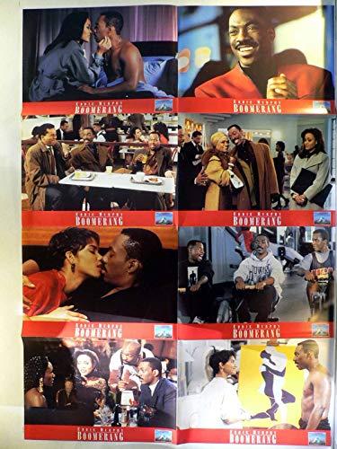 Boomerang - Eddie Murphy - Halle Berry - 8 Aushangfotos/Lobbycards-G1