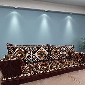ecksofa eckcouch boden sitz sofa schlafsofa schlafcouch sofa f r wohnzimmer bohemien. Black Bedroom Furniture Sets. Home Design Ideas