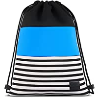 Mochila Cordónes de Neopreno Azul - Johnny Urban Bolsa de Lona con Bolsillo  para Hombre dd53470586dde