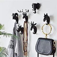 Animal Head Wall Hanging Home Porch Door Key Deer Head Hanger Coat Hook