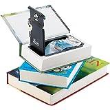 Xcase Buchtresor 3er-Set: Stahltresore getarnt als Bücher (echtes Papier)