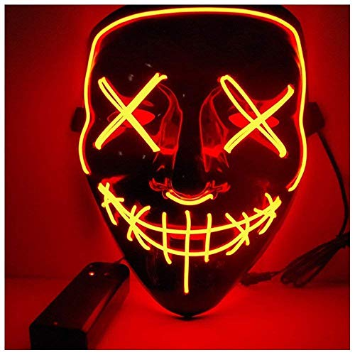 Angel ZYJ Halloween Maske LED Light EL Wire -